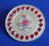 ROYAL CORPS OF TRANSPORT BROACH / BROOCH ( SRS ) REFS S